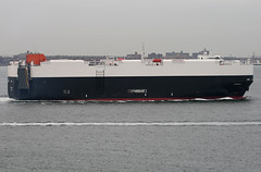 CARRERA in New York, USA. October, 2008 (Tom Turner - SeaTeamImages / AirTeamImages) Tags: auto city nyc usa newyork water car brooklyn port bay coast harbor boat marine ship unitedstates harbour transport shoreline vessel spot cargo pony shore maritime transportation vehicle statenisland bigapple carrier channel spotting staten waterway carrera carcarrier verrazanonarrows autocarrier tomturner vehiclecarrier