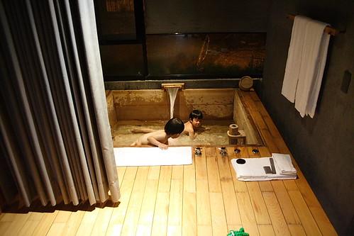 泰安觀止溫泉會館(房內與泡湯)021