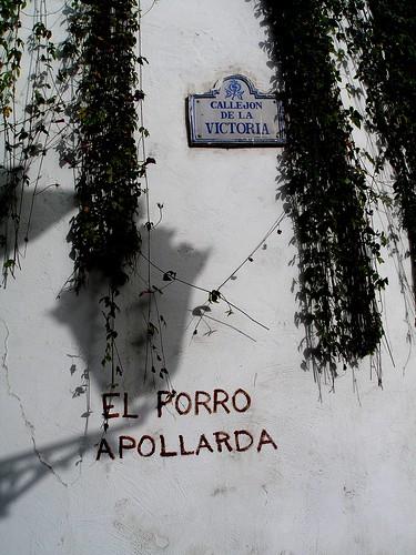 Pintada en una calle de Granada.