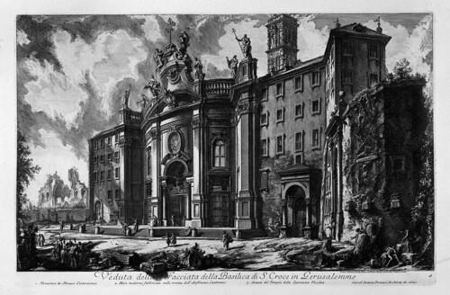 014-Vista de la fachada de la basilica de la Santa Cruz