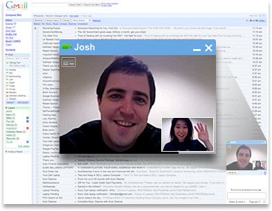 google talk video chat