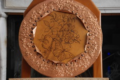 DSC_0015 (Paco Art Center) Tags: leather engraving copper copperplate gravure pyrography  copperengraving