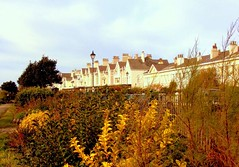 Marine Crescent meets Beach Lawn (The Old Brit) Tags: autumn houses homes architecture liverpool buildings cities waterloo towns crosby mansions me