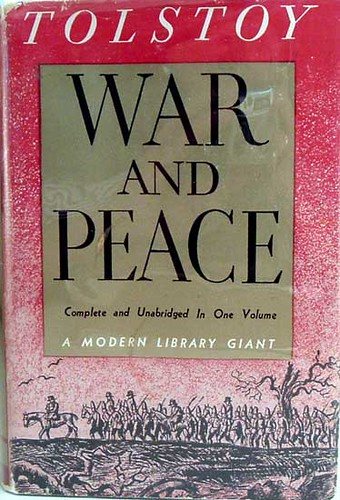 WAR AND PEACE [1869] Leo Tolstoy Image
