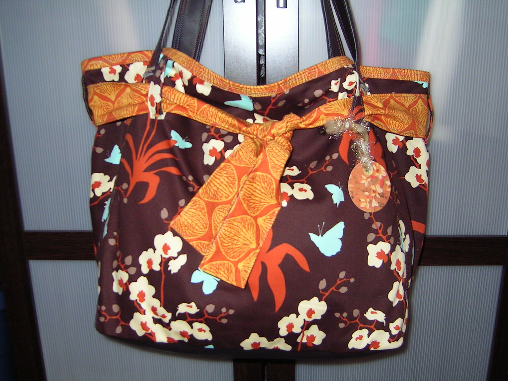 Carry-all Bag Designer Fabric