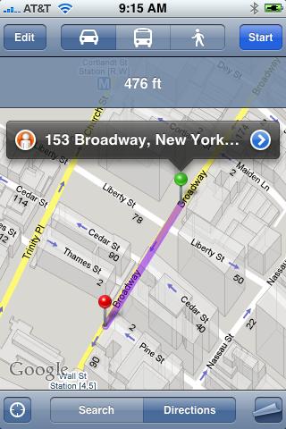 Google iPhone 2.2 Update