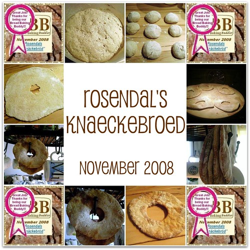 Bread Baking Babes' knaekebroed