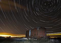 Vagón de tren (dnieper) Tags: españa spain leon nocturna vagon bercianosdelrealcamino dragondaggerphoto