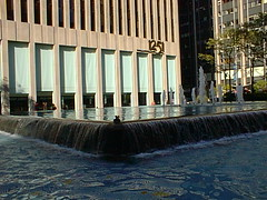 nyc98k6av14 Fountain, 6th Ave at 50th, New York 1998 by CanadaGood, on Flickr