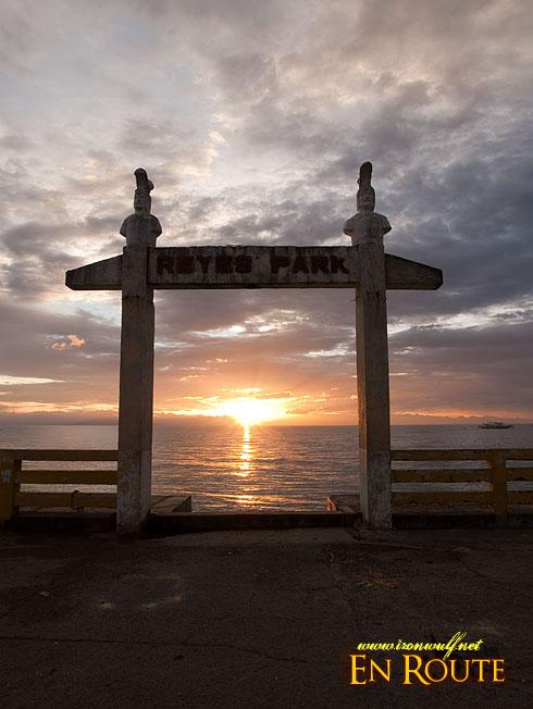 Gasan Reyes Park Sunset
