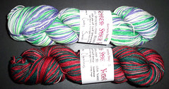 Vesper Sock Yarn - Christmas