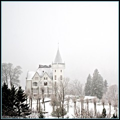 Gamlehaugen in snow - Highkey (Papafrezzo,  2007-2012 by www.papafrezzo.com) Tags: winter snow norway square norge nikon highkey bergen hordaland paradis noorwegen gamlehaugen bgs 500x500 d80 11222008921