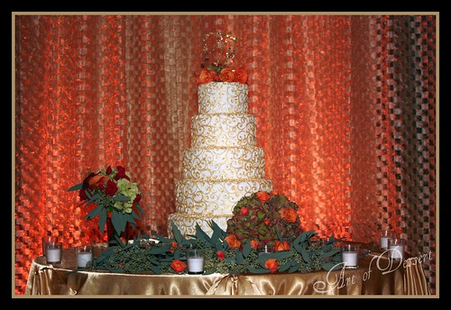 Mike and Janice's Wedding Cake