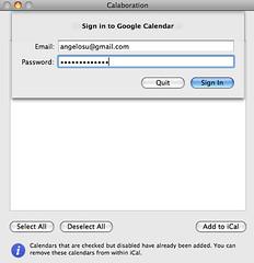 Google日曆與iCal