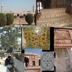 jahangir's tomb (tango 48) Tags: pakistan tree grave garden tomb grill marble punjab fresco lahore artisan shahdara jahangirstomb jahangirs