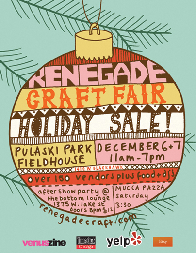 Renegade Craft Fair Holiday Sale!