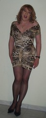 Nouvelle robe (xsophie44) Tags: tv moi trav shemale travestie