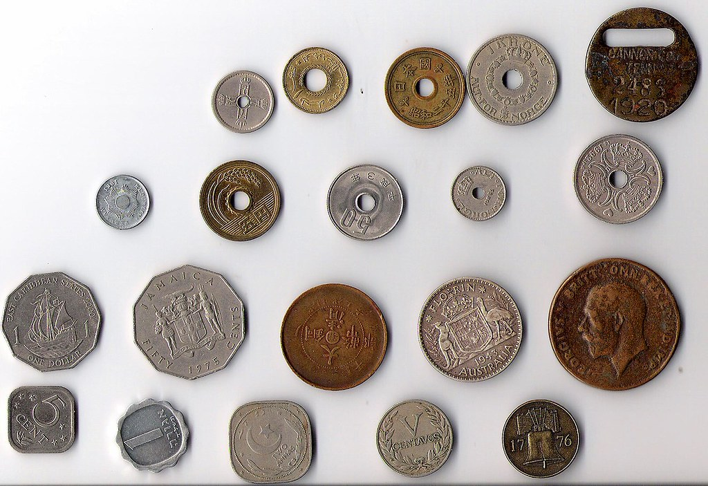 Coin oddities, side one