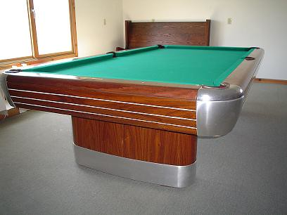 MidCentury Snooker Pool Table Restoration Refinish Wizard - Brunswick century pool table