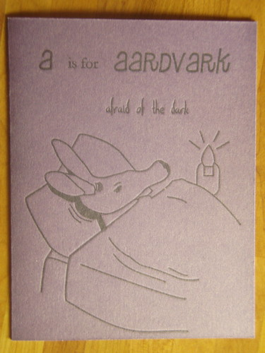 a is for aardvark afraid of the dark