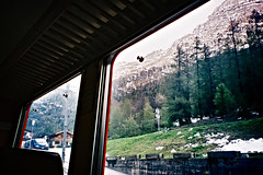 swiss train (AS500) Tags: mountain window train switzerland europe