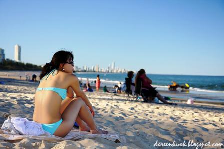 Burleigh beach, Gold Coast
