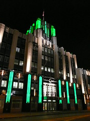 Syracuse, NY Niagara-Mohawk Power Building at Night (army.arch) Tags: nightphotography ny downtown artdeco nightcity nationalregisterofhistoricplaces syracusenewyork niagaramohawkpower bleyandlyman melvinlking
