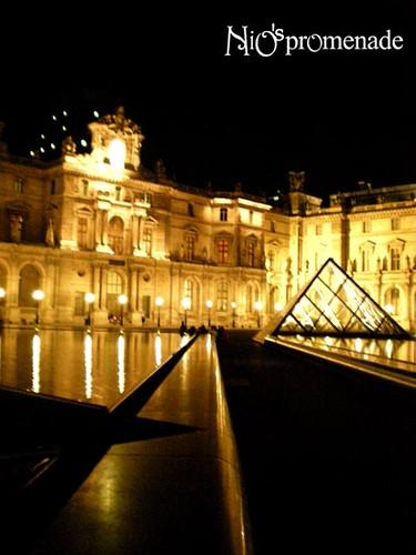 你拍攝的 Louvre 4。