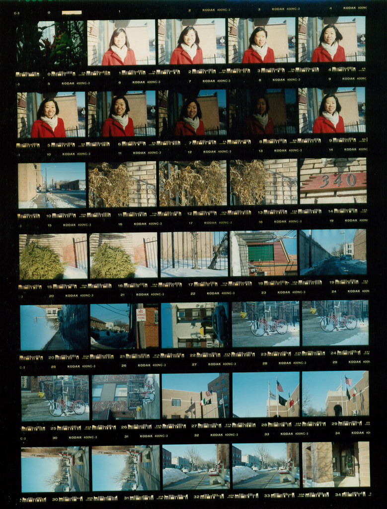 Color Contact Sheet