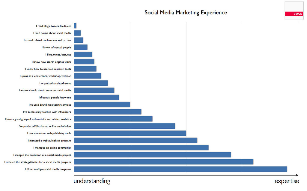 Social Media Marketing Experience