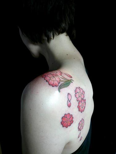 kyoto sakura tattoo. harizanmai.jp