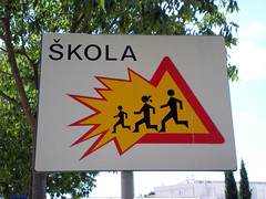 Croatian Traffic Sign