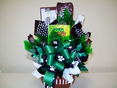 Celina Bulldogs Football (Candy Bouquet) Tags: football candy chocolate gift present bouquet