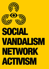satoboy social vandalism network activism (SATOBOY SOCIAL VANDALISM NETWORK ACTIVISM GUERRILL) Tags: life street new york urban italy streetart color art net nerd illustration subway poster design al still cool italian stencil community sticker flickr italia arte post graphic live south style social pop vandalism writer invader network activism urbanjungle nuovi stile 2009 infected invasion alcapone collective stickering berlusconi sud grafica facebook italiano vectorial sato infect capone untouchable carboneria manifesti collettivo vettoriale intoccabile invasione postgraffiti carbonari intoccabili satoboy netpop satoboycollective videocracy ziguline invadere inuovicarbonari