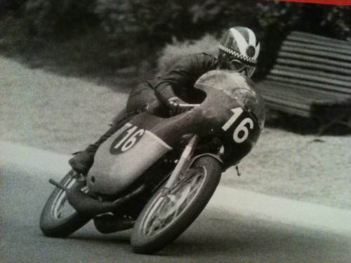 My dad used to race motorcycles in the sixties... by luce goods