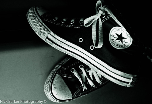 dirty black converse