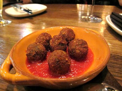 fried prosciutto balls