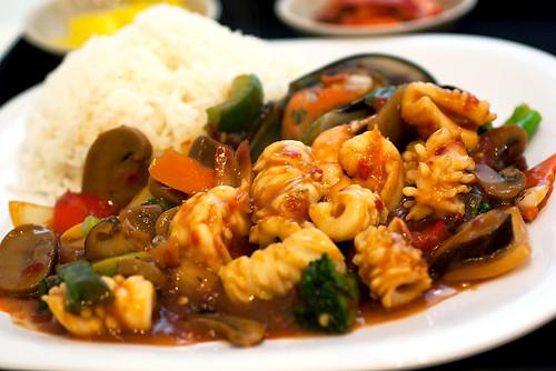 spicy jop tang @ jin jja roo
