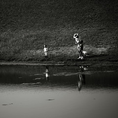 Fishing with grandpa (louieliuva) Tags: blackwhitephotos saariysqualitypictures