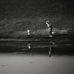 Fishing with grandpa (louieliuva) Tags: blackwhitephotos saariysqualitypictures