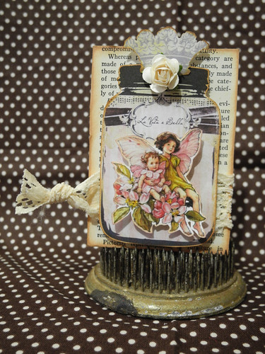 Fairies in a Jar ATC