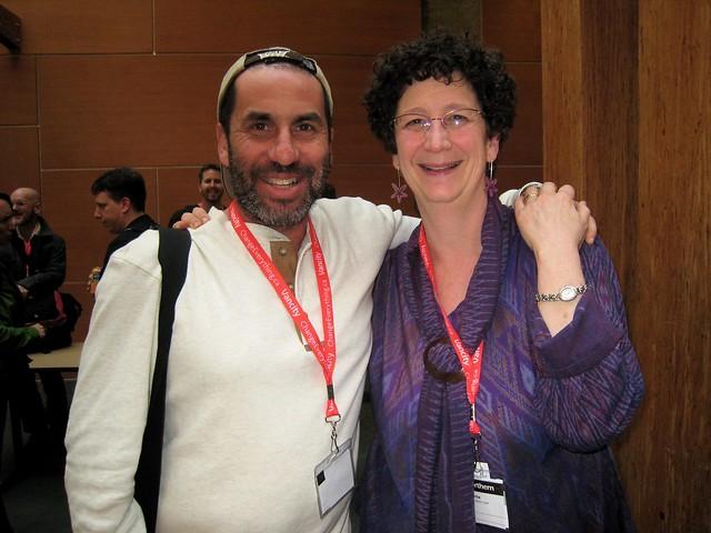 Me and Nancy White