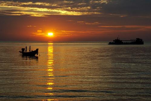 koh tao - sunset