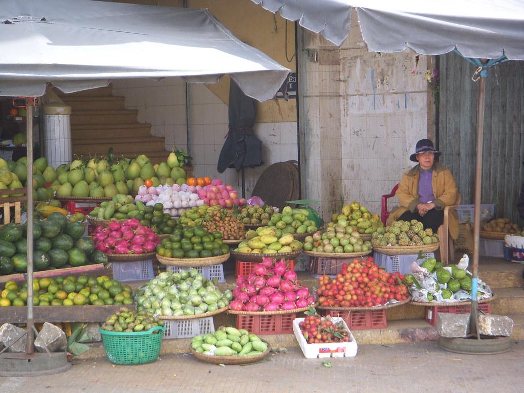 frutas de colores