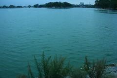 Ulsoor lake on a cloudy Morning (Swami Stream) Tags: morning india lake canon landscape rebel walk bangalore karnataka swami banaglore ulsoor ulsoorlake bengaluru xti swamistream swamistreamcom