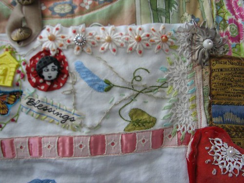 pocket on the shawl