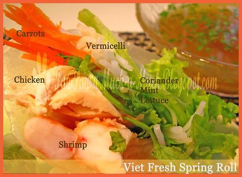 Viet Spring Roll Half