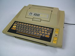 Atari 400 (unloveablesteve) Tags: computer toy toys tv video cream games atari 400 8bit console vcs membranekeyboard tvcream tvcreamtoys
