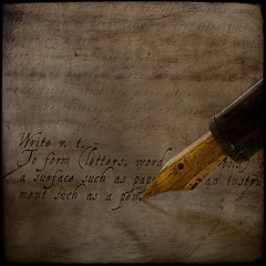 Write.... (borealnz) Tags: pen ink writing square words bravo text definition nib dictionary palabra bsquare firstquality thanksantiocialbutterfly thanksbirdieatuncommondepth thankstontoncopt borealnz