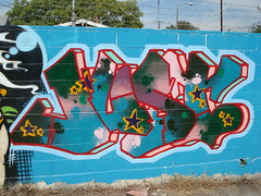 Just195 AWR NASA LosAngeles Graffiti Art (anarchosyn) Tags: art graffiti losangeles nasa just awr just195